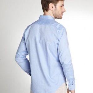 Burberry Brit blue men long sleeve shirt size XL